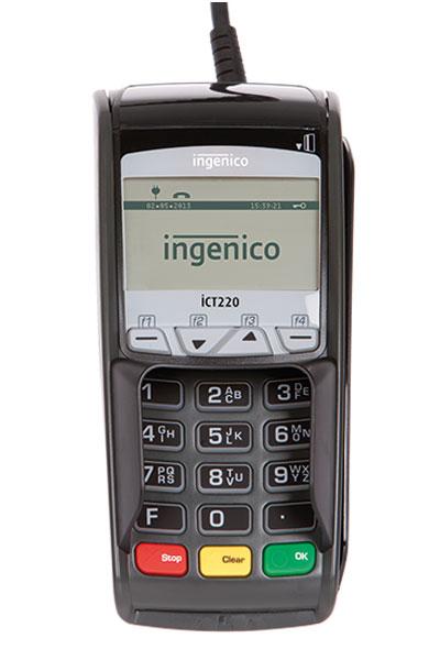 ec-terminal ingenico ict220